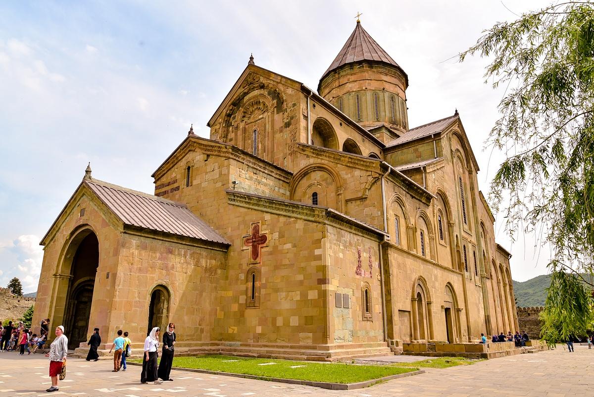 Светицховели собор, Мцхета, Грузия