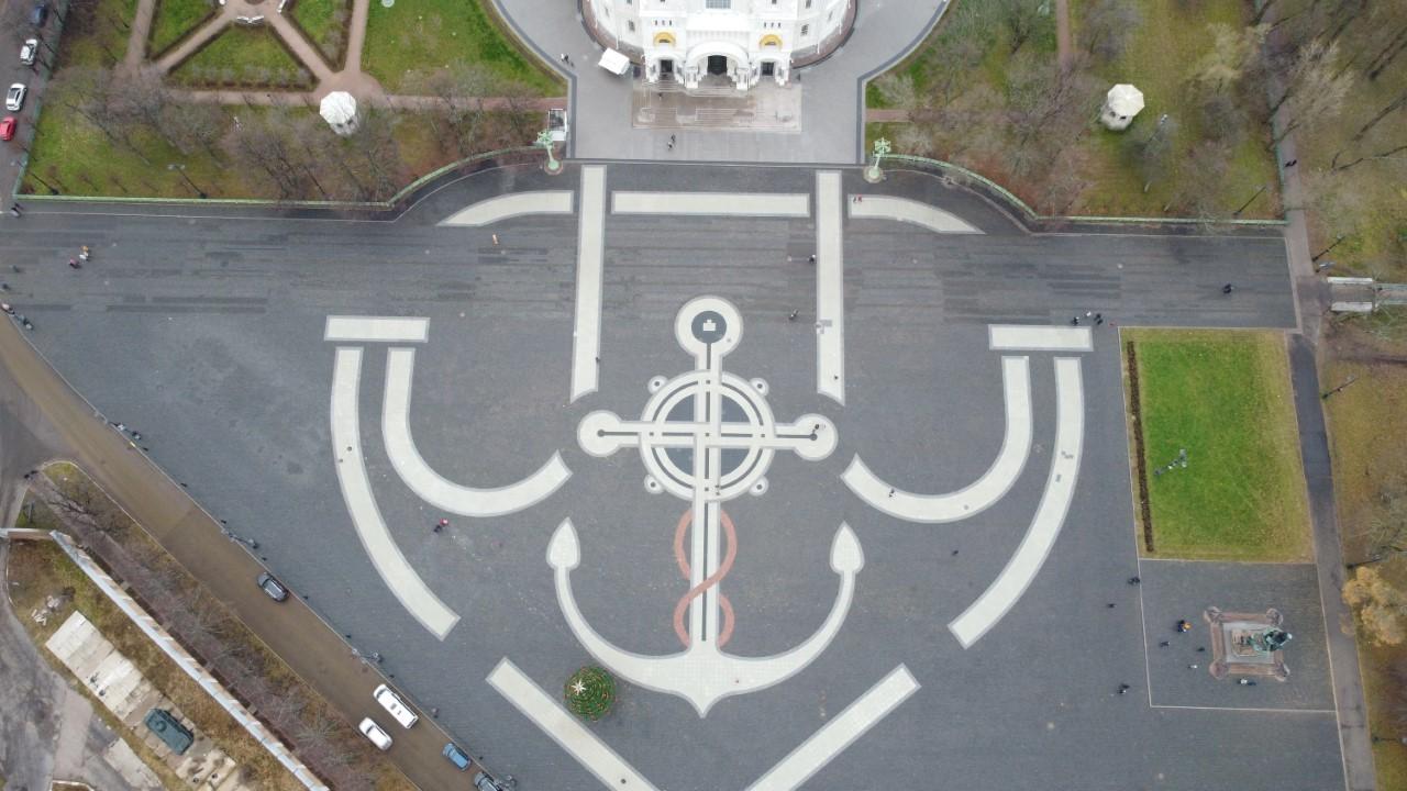 Площадь перед Морским собором, © Карамызов Заур
