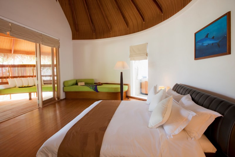 Kuramathi Maldives. Superior Beach Villa with Jacuzzi